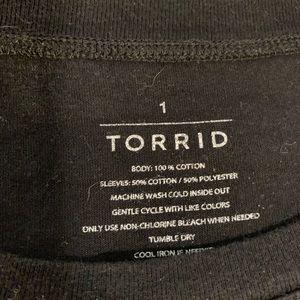 torrid Tops - Torrid Rock N Roll Tee 🎸